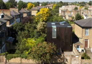 CLT sunken house London